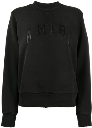 Amiri Logo Patch Sweatshirt