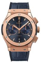 Hublot Classic Fusion Blue Chronograph King Gold 45mm Watch