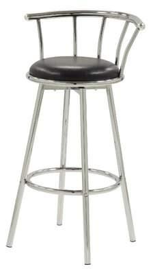 "Ebern Designs Joy 30"" Swivel Bar Stool Ebern Designs"