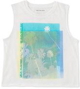 Calvin Klein Palm Tree Tank Top, Big Girls (7-16)