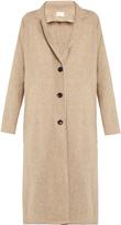 Simon Miller Lida split-hem wool coat
