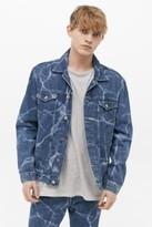 Edwin Denim Trucker Jacket - Blue S at Urban Outfitters