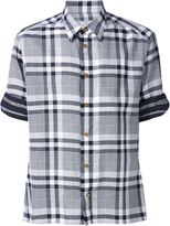 Vivienne Westwood Man short sleeve tartan shirt