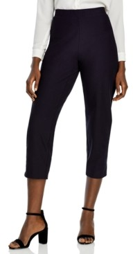 Eileen Fisher Plus Size Cropped Pull-On Pants