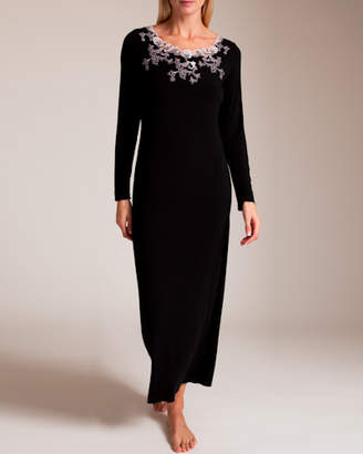Paladini Couture Cabochon Mogano Gown