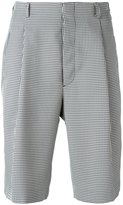 Fendi houndstooth shorts - men - Polyester/Viscose - 48