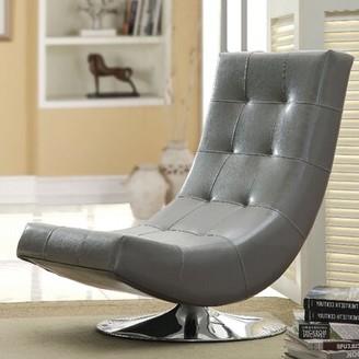 A&J Homes Studio Trinidad Swivel Lounge Chair A&J Homes Studio Upholstery: Gray