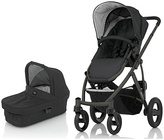 Britax Smile Pushchair & Carry Cot - Black