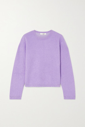 Valentino Wool-blend Sweater - Purple
