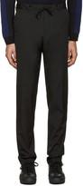 Kenzo Black Drawstring Trousers