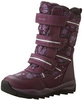 Geox J ORIZONT B GIRL ABX B, Girls' Snow Boots, Purple (DK PURPLEC8016), (40 EU)