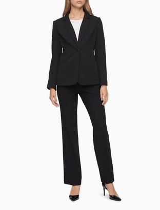 Calvin Klein Essential Skinny Black Suit Pants