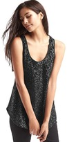 Gap Sequin scoop tank