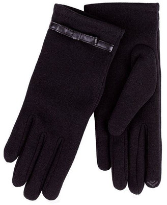 Isotoner Bow Smart Knitted Gloves