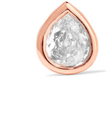 Anita Ko 18-karat Rose Gold Diamond Earring - one size