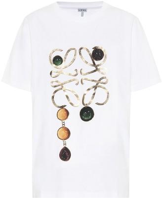 Loewe Anagram cotton-jersey T-shirt