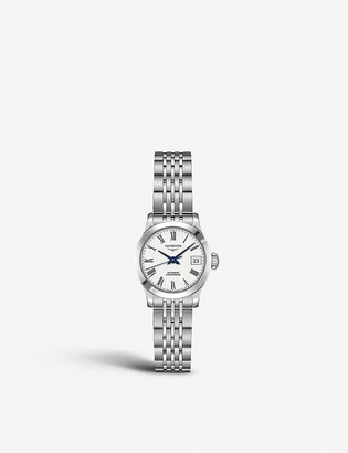Longines L23214116 Record automatic chronometer stainless steel watch