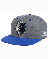 adidas Minnesota Timberwolves Fog Snapback Cap