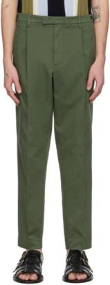 Barena Khaki Masco Stino Trousers