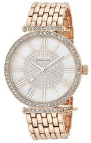 JLO by Jennifer Lopez JL-2920WMRG women's quartz wristwatch