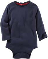 Osh Kosh Pointelle Bodysuit - Red - 18M