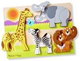 Melissa & Doug Chunky Safari Jigsaw Puzzle - 20 Piece