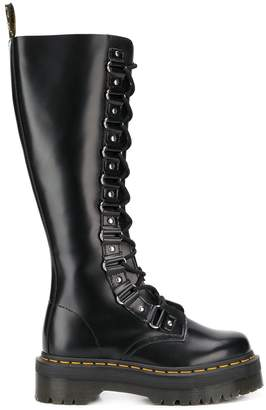 Dr. Martens Chunky Heel Knee Length Boots