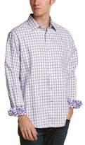 Robert Graham Microcar Woven Shirt.