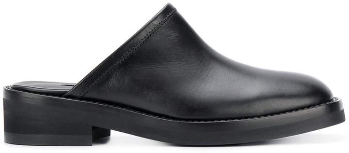 Ann Demeulemeester chucky heeled slippers