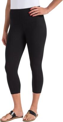 Lysse Women's Cotton-Blend Capri Legging - Black - XS