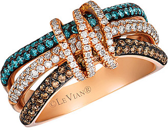 LeVian Le Vian 14K Rose Gold 0.97 Ct. Tw. Diamond Ring