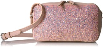 The Fix Isabelle Glitter Small Crossbody Bag