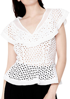 Ghost Cecile Top, White