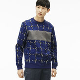 Lacoste Men's L!ve Rope Graphic Sweatshirt