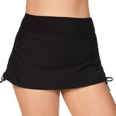 Croft & Barrow Women's Thigh Minimizer Drawstring Skirtini Bottoms