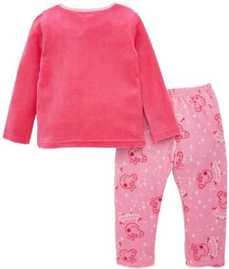 Peppa Pig Girls Ballerina Pyjamas - Pink