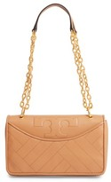 Tory Burch Alexa Leather Shoulder Bag - Brown