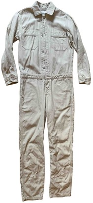 Carhartt Beige Cotton Jumpsuits