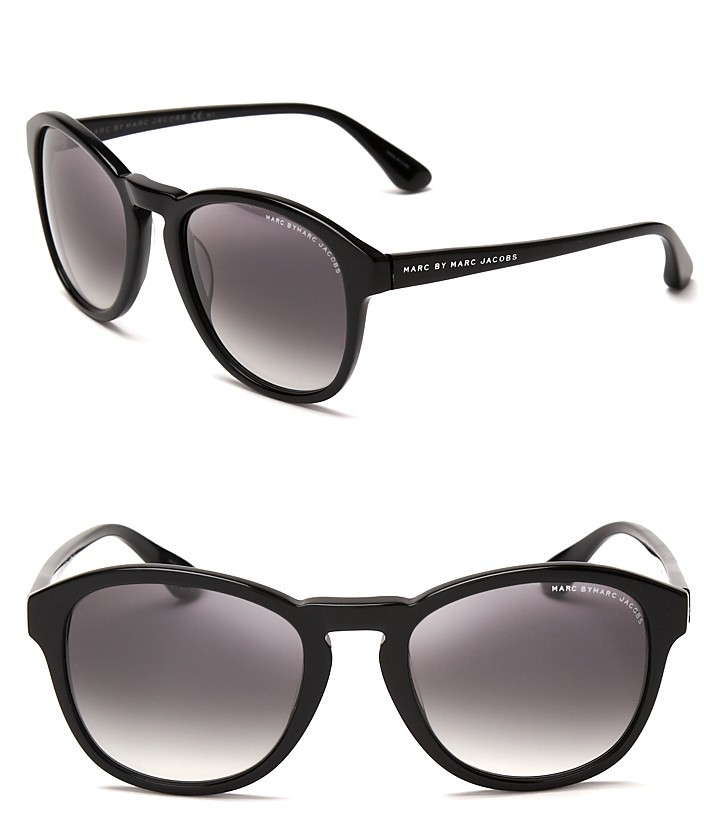 Marc by Marc Jacobs Round Mod Wayfarer Sunglasses