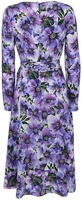 Dolce & Gabbana Floral Printed Wrap Dress