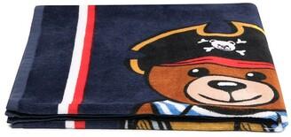 MOSCHINO BAMBINO Pirate Teddy towel