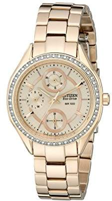 Citizen Drive From Eco-Drive Women's Watch with Crystal Accents and Date