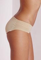 Missguided Nude Rakila Padded Bum Pants