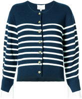 3.1 Phillip Lim sailor cardigan with contrast cuffs