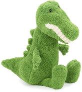 Jellycat Medium Toothy Croc Stuffed Animal, Green