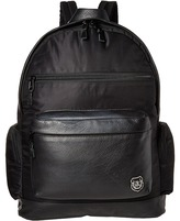 The Kooples Sport Nylon and Leather Backpack Backpack Bags