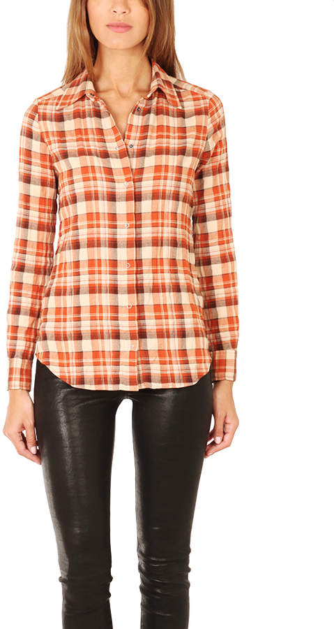 L'Agence Long Sleeve Shirt