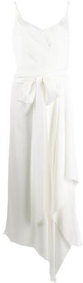 Parlor Wrap Front Maxi Dress