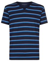 Derek Rose Alfie Double Stripe T-shirt