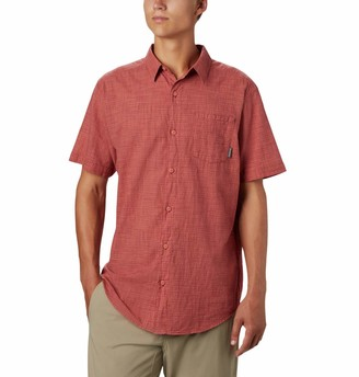 Columbia Men's Big and Tall Under Exposure Yarn Dye Short Sleeve Shirt